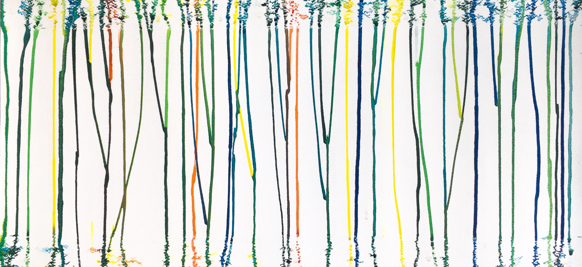 "2020, Texte de Fabrice Castajon à propos de la peinture  ""Quarantaine, 2020"""