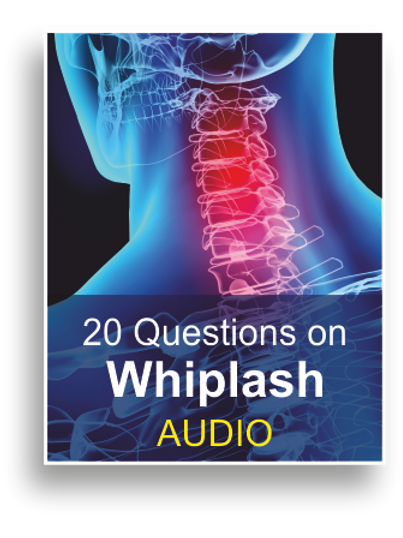 20 Questions on Whiplash (Audio Book)