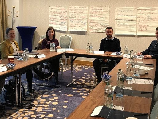TUSLA team leaders in Dublin
