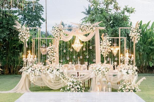 Bridal Table Decoration
