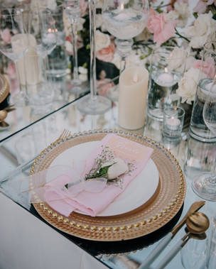 Bridal Table Styling