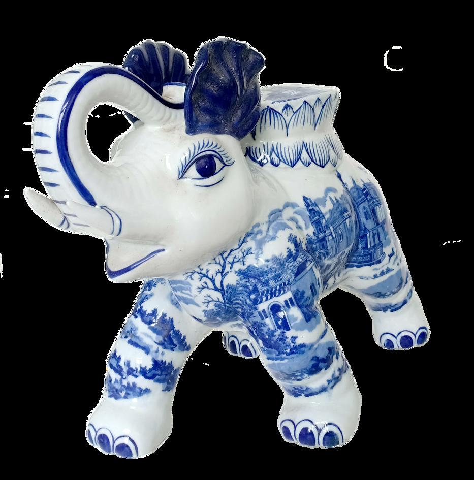 Elephant Chinese Vase