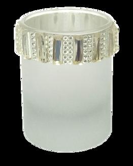 Sequin Tea Light Glass