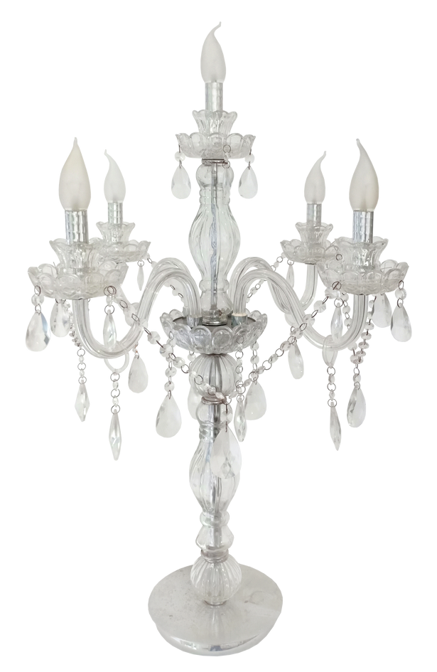 Crystal Candlelabra