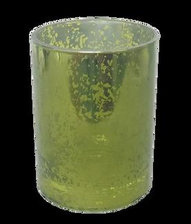 Tea Light Glass Light Green
