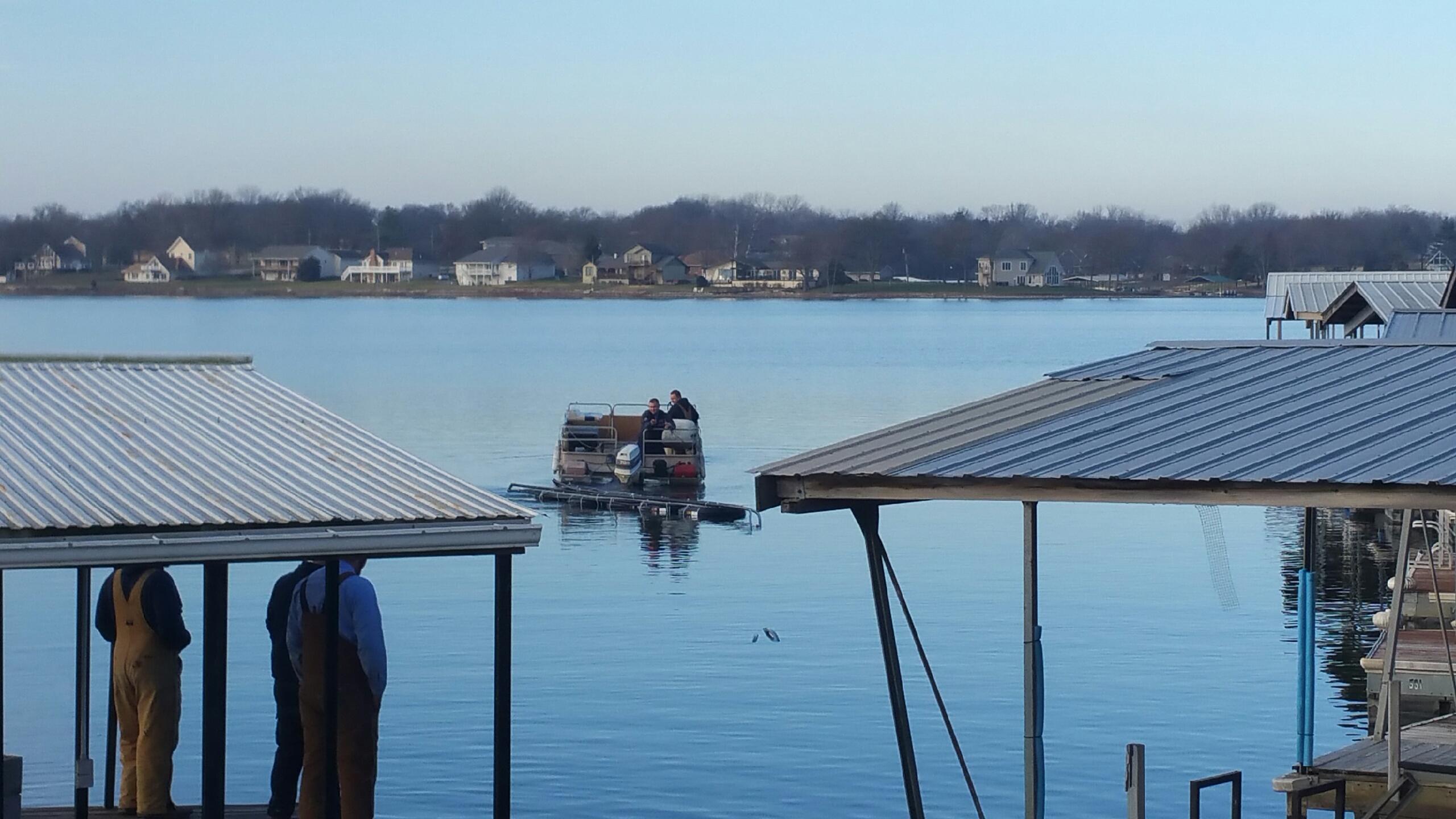 Installing Lake Loops at Lake Viking