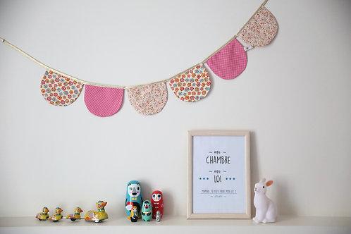 guirlande fanion décoration chambre bébé