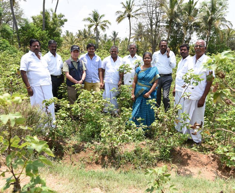 蘇文棉大師與南印度當地農民