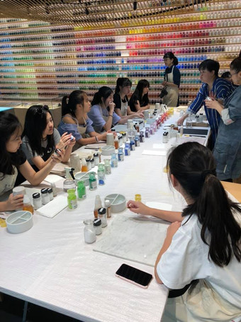 Japan Design trip-Workshop/Pigment Tokyo