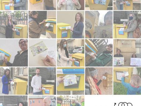 Comment participer à l'action «cartes postales» ?