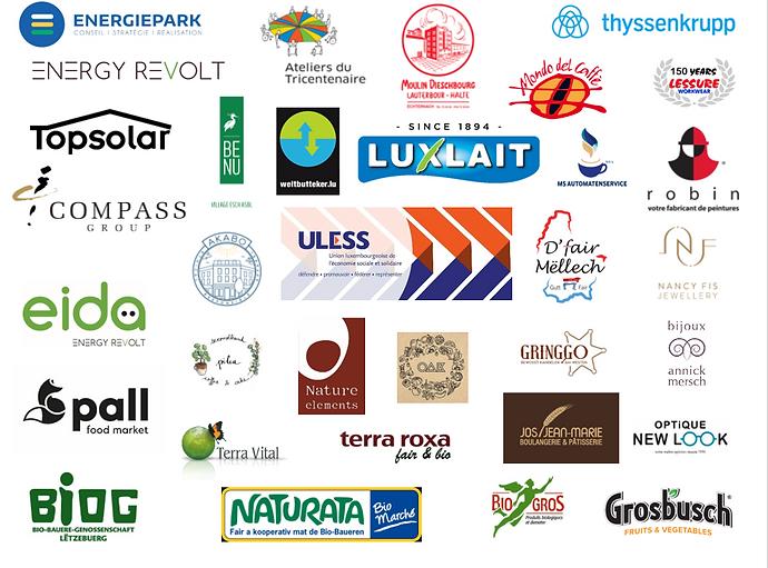 Screenshot regroupement des entreprises