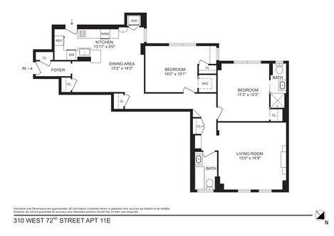 310 West 72nd St. Apartment 11E