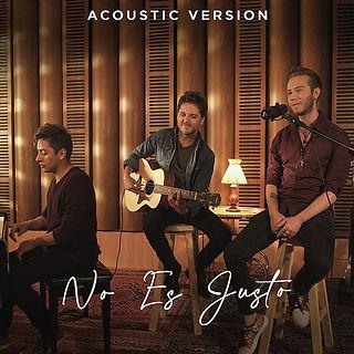 Caratula No Es Justo Acoustic 2.jpg
