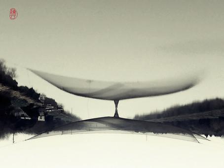 Upside down. 翻轉