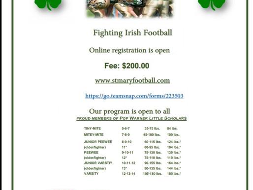 New to Fighting Irish Football?