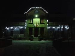 photo mairie de nuit