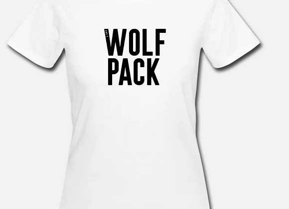 Wolf Pack T-Shirt (White) Organic