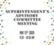 5-Superintendents Advisory Committee_May
