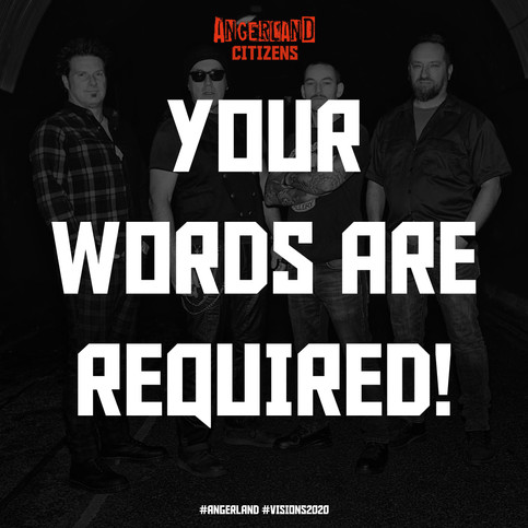 Your words are required!