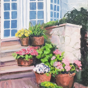 Potted Patio by Dottie Murphy