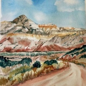 O'Keefe Country by Heather Gaume (Suggested Donation: $75.00)