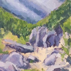 Rocky Landscape by Dottie Murphy