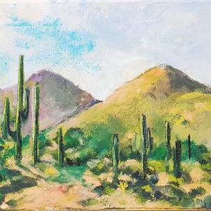 Saguaro Landscape by Dottie Murphy