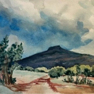Rain Coming by Heather Gaume (Suggested Donation: $60.00)