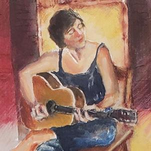 Guitar by Dottie Murphy