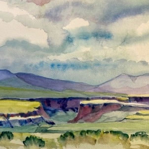 Expecting Rain by Heather Gaume (Suggested Donation: $40.00)