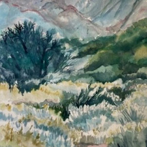 Rainy Day Walk by Heather Gaume (Suggested Donation: $60.00)