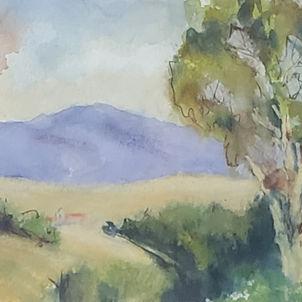 Soft Landscape by Dottie Murphy