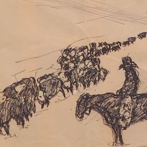Herding by Dottie Murphy