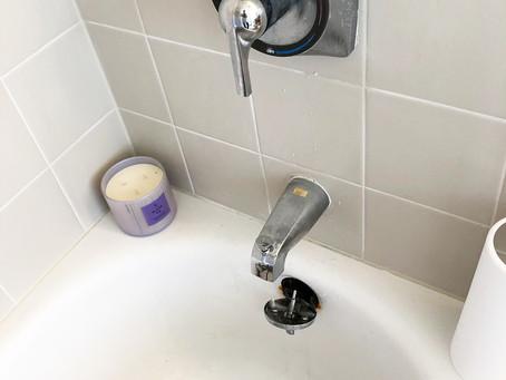 シャワーハンドルの交換