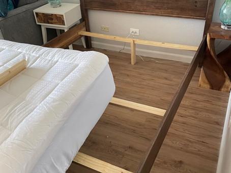 ベッドの補強