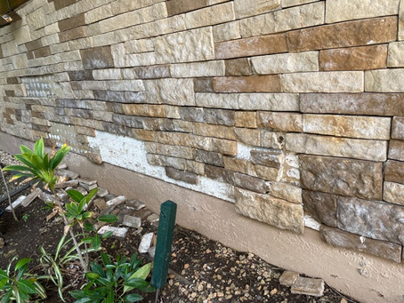 外壁の修理