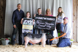 Hayes Family, Division Champion Hog, Eastern New York Summer Classic