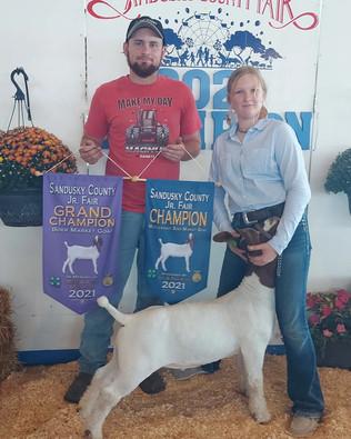 Bree Hasselbach, Grand Champion Boer Goat, Sandusky County Fair 2021.jpg