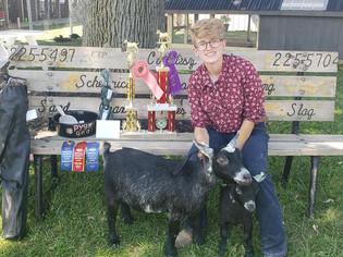 Taylor Puchmeyer, Grand Champion Goat, Medina County Fair