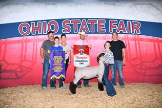 Harley Hanes, Grand Champion Lamb, Ohio State Fair
