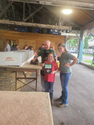 Kila Stephan, Best of Breed Rabbit, Ohio State Fair
