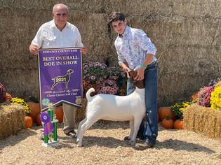 Logan Schroeder, Best Overall Doe in Show, Defiance County Fair 2021.jpeg