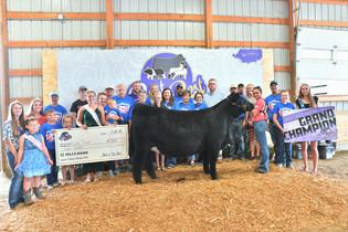 Rylie Timm, Grand Champion Breeding Heifer, Best of the Best 2021