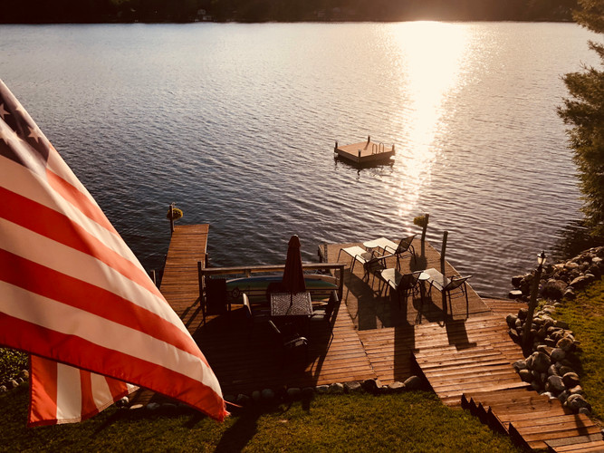 Lakefront Lookout Dock