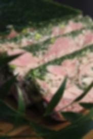 Jambon persillé à la pistache