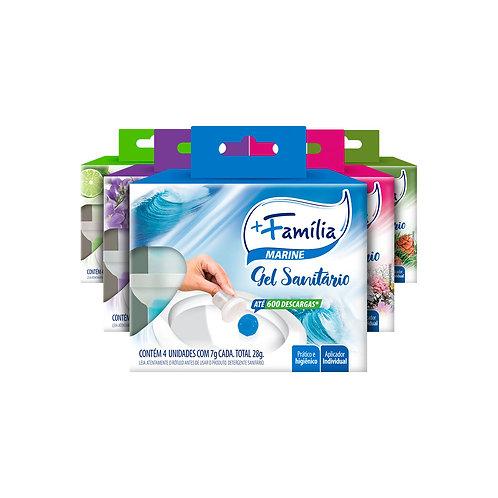 Gel adesivo sanitário - Caixa 4 unidades 28g