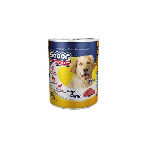 Alimento úmido adulto sabor carne (lata) - 300g