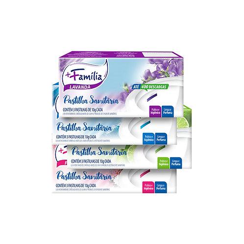 Pastilha adesiva sanitária - Caixa 3 unidades 30g