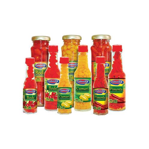 Pimentas em conserva - 70g | 140g | 155g
