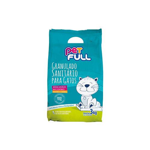Granulado Sanitário para gatos - 3kg